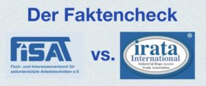 FISAT vs. IRATA - Ein Vergleich der Industriekletter Verbände
