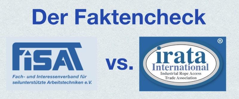 FISAT vs. IRATA ein Vergleich für Industriekletterer