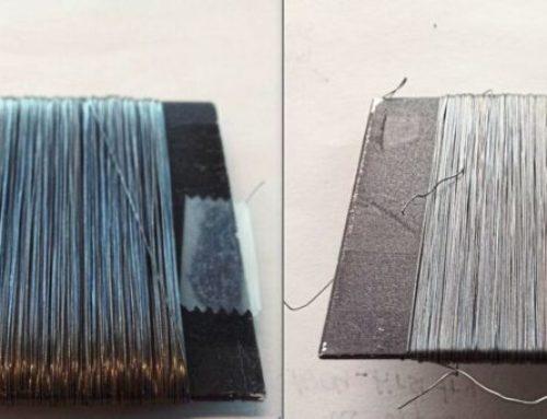 Farbwechsel an Seilen: Materialermüdung